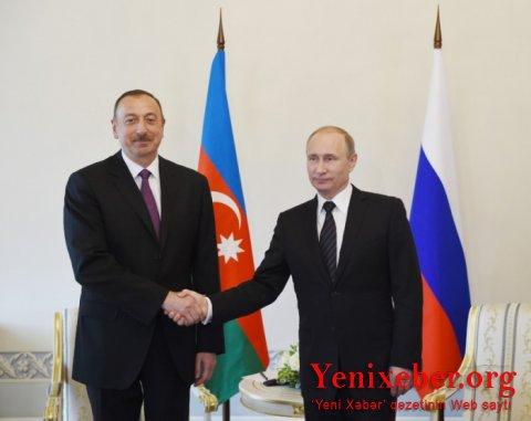 İlham Əliyev və Putin telefonla danışıb