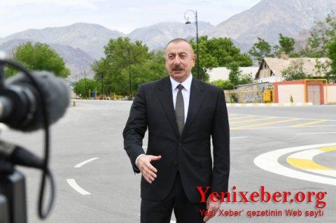Prezidentin Azərbaycan Televiziyasına müsahibəsi -