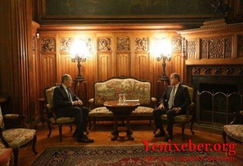 Ceyhun Bayramov Lavrovla görüşüb-