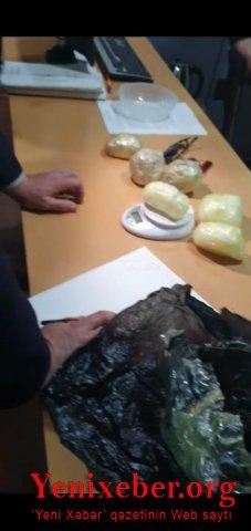 Neftçalada üzərində narkotik vasitə olan şəxs saxlanılıb-