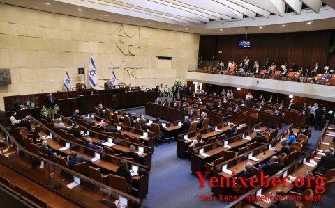 Knesset 36-cı hökuməti təsdiqlədi-