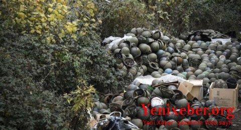 Qarabağda qalıqları tapılan erməni hərbçilərin sayıAÇIQLANDI