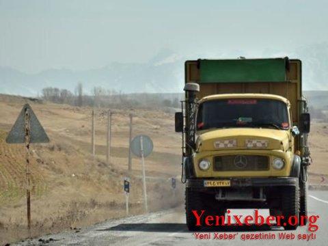 İran yük maşınlarının Qarabağ marşrutu:  -