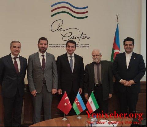 Hikmət Hacıyev İran XİN başçısının müavini ilə görüşüb-