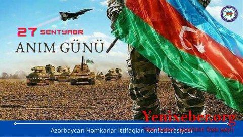 Azərbaycan Həmkarlar İttifaqları Konfederasiyasının sədri Səttar Möhbalıyevdən  -