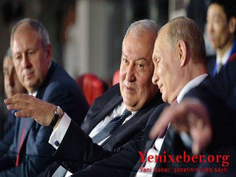 Sarkisyan Putinə məktubyazıb-